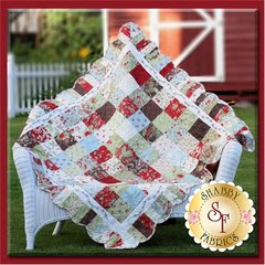 "Holiday Charm Pattern by Shabby Fabrics, 55"" x 55"""