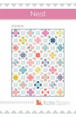 "Early Bird Nest Quilt Kit designed by Kate Spain for Moda Fabrics, 63"" x 81"""