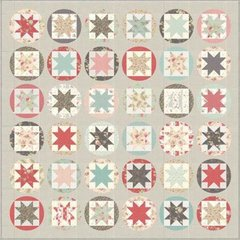 "Poetry Prints Quilt Kit designed by 3 Sisters for Moda Fabrics, 76"" x 76"" when finished"