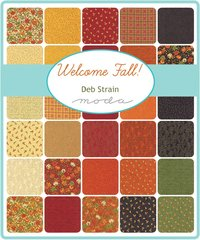 Welcome Fall Assorted Colors by Deb Strain for Moda