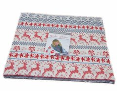 "Nordic Stitches Layer Cake (40 - 10"" x 10"" squares) designed by Wenche Wolff Hatling of Northern Quilts for Moda Fabrics"