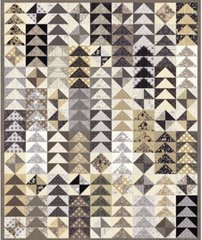 "Maven Main Skein Quilt Kit designed by BasicGrey for Moda Fabrics, 54"" x 66"""