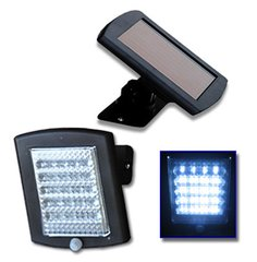 Solar Security Shed Garage Work Light Flood LED Light with 36 LEDs and Motion Sensor