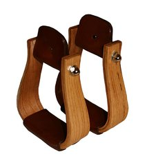 Nettles Laminated Wood Stirrups