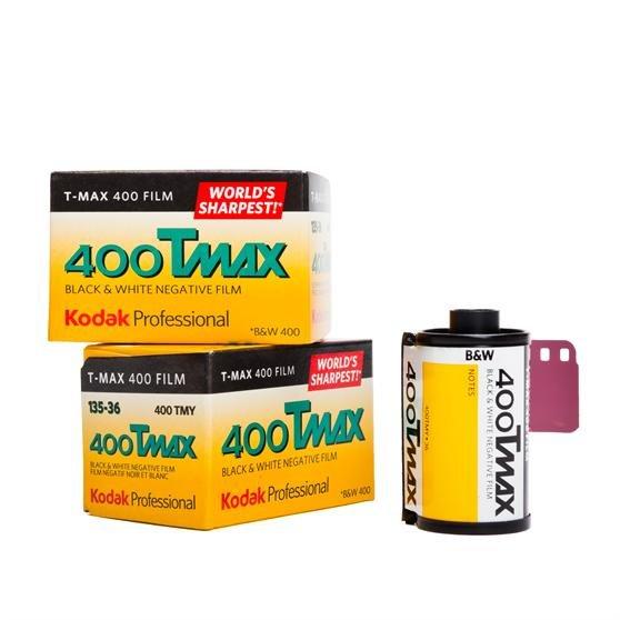 Kodak T-Max 400 35mm Professional Black & White Negative Film (36 exposure)