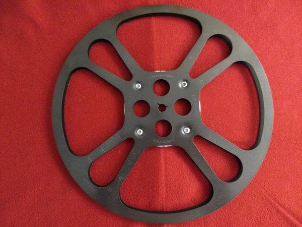 Goldberg Super 8mm 1600 ft Metal Movie Reel