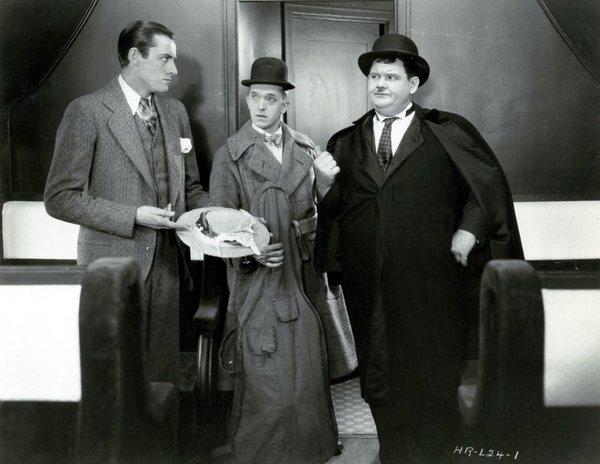 Berth Marks starring Laurel & Hardy (Super 8mm Magnetic Sound Print)