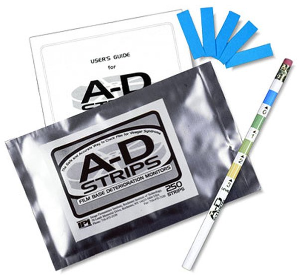 A-D Strips by Image Permanence Institute (pkg. of 250 strips)