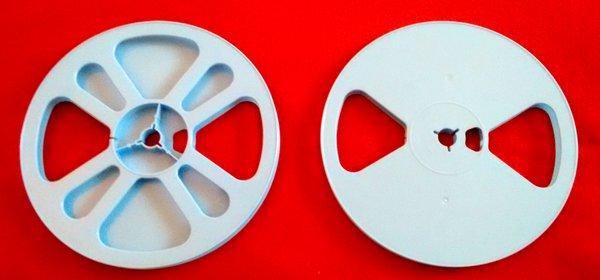 TayloReel Super 8mm 400 ft. Plastic Movie Reel (New Design for Better Balance)