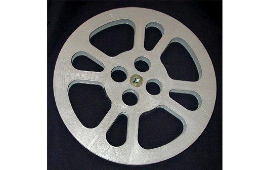 TayloReel 16mm 1200 ft. Plastic Movie Reel