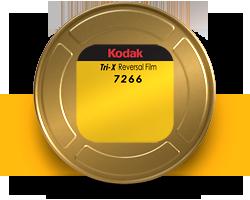 Kodak Tri-X Black & White Reversal Film 7266 - 16mm 100ft. Roll