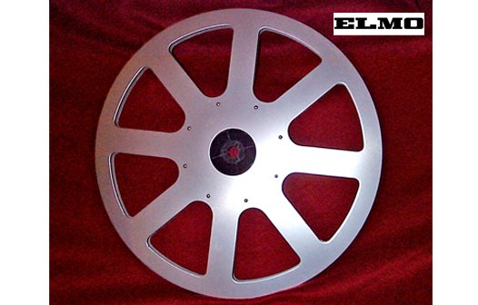 Elmo 1200 ft. Brushed Aluminum Accessory Take-Up Reel (for the ST and GS Series Movie Projectors)