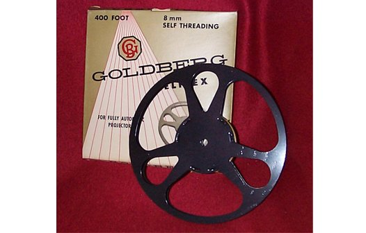 Goldberg Regular 8mm 400 ft. Metal Movie Reel