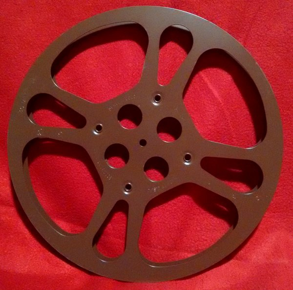 Goldberg 16mm 800 ft. Metal Movie Reel