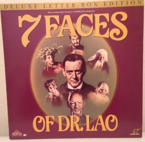Seven Faces of Dr. Lao starring Tony Randall and Barbara Eden (Letterbox Edition)