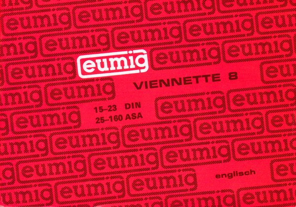 Instruction Manual: Eumig Viennette 8 Super 8mm Movie Camera