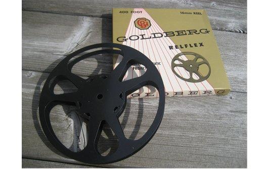 Goldberg 16mm 400 ft. Metal Movie Reel