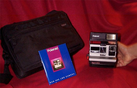 Polaroid Camera ('Brand New Old Stock - Packaged in the Official Polaroid Carry Case')