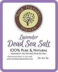 Lavender Dead Sea Salt 5lbs