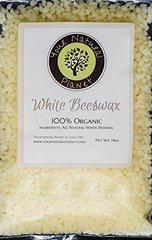 White Organic Beeswax 14oz-Model-WOB-14