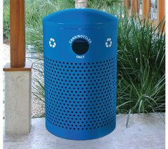 Blue Perforated Can (Blue Parks Series)