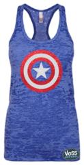 Captain America Star Tank Top