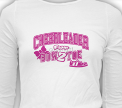 Cheerleader from Bow to Toe Tee