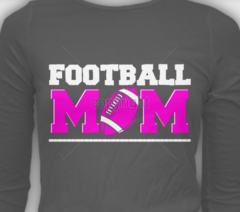 Football MOM-Pink Design Tee