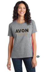Avon Orioles Black Glitter & Rhinestones Tee