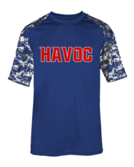 Havoc Baseball Badger Digi-Camo Tee Regular Print