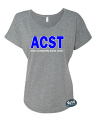 ACST - Ladies Relaxed Tri-Blend Dolman Tee