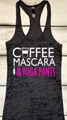 Coffee Mascara & Yoga Pants Tank