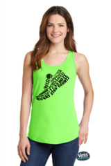 Every Step Counts Shoe Word Collage RunningTank