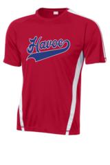 Havoc Baseball Sport-Tek PosiCharge Competitor Tee Script Print
