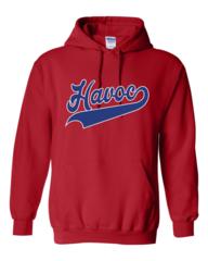 Havoc Baseball Gildan-DryBlend Hooded Sweatshirt-Script Print
