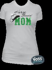 Horse Showin Mom Tee, Tank, Long Sleeve, Hoodie