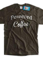 Powered By Coffee Tee