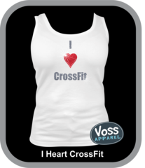I Heart CrossFit Shirt or Tank