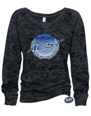 ACST - Wideneck Burnout Sweatshirt