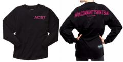 ACST - Boxercraft Pom Jersey Shoulder-to-Shoulder Glitter Print