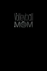 Rhinestone Volleyball Mom Tee