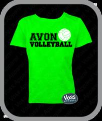 AVON Volleyball Tee