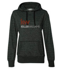 Keller Williams Rhinestone Glitter Hoodie-Black