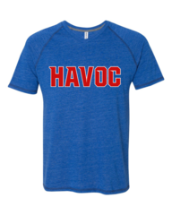 Havoc Baseball AllSport Tri-Blend Raglan Tee Regular Print