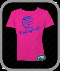 Volleyball Glitter Tee