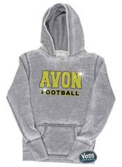 Avon Football Rhinestones - Zen Hoodie