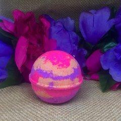 Lemon Poppy Seed Bath Bomb