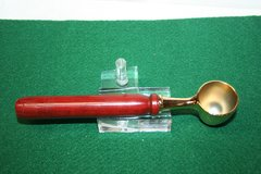 Handcrafted Redheart Heavy Duty Handled Gold Coffee Scoop