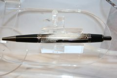 Handcrafted Antler Pen - Whitetail Deer Antler Executive Click Pen Finished in Bright Chrome
