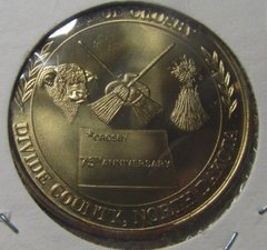 Crosby ND 1979 75th Anniversary Dollar Bronze